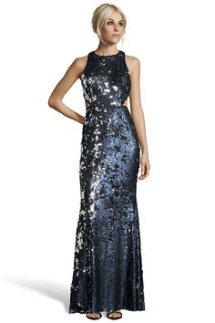 STANFIELD Cutout Gown W/Exposed Zipper from Jay Godfrey
