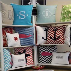 Choose from a variety of pillow designs or create your own!