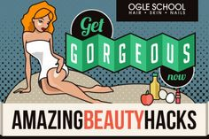 Get gorgeous using these simple hacks and modest ingredients from around your house. With these beauty hacks You'll look & feel great in no time.