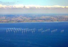 The 110 megawatt Lillgrund wind farm off the coast of southern Sweden. Photo credit: Tomasz Sienicki