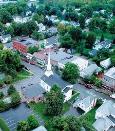 Hammondsport, NY right off of Kueka Lake (one of the finger lakes) It tied for first as the coolest small town of america 2012
