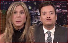 Watch: #JenniferAniston And #JimmyFallon Flip Lips...