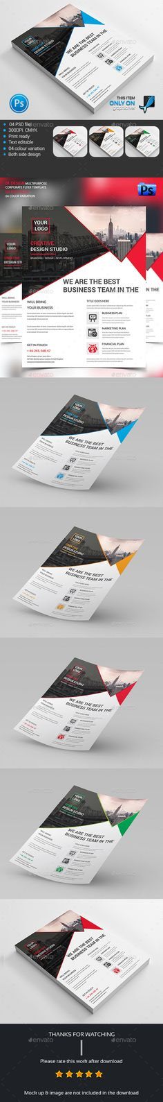 Creative Corporate Flyer V  Flyer Template
