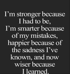 Stronger, Smarter. Happier