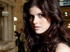 Alexandra Daddario hair color
