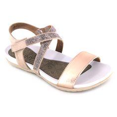 312fd555 Jenny Shoes 22-55933 Nepal Altura de la cuña de 2 cm Sandalias de estilo