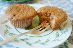 recette sans gluten de muffins à la compote de pomme et cannelle