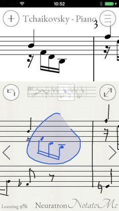 Music score writing app ipad