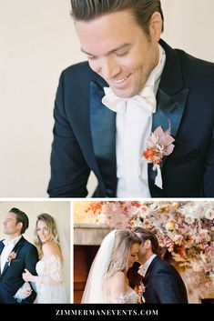 This beautiful wedding photo shoot from Heather Payne Photography at Sunstone Winery shows why it's so important to add texture to your wedding day. From the elegant pink and orange wedding color scheme to the wedding ceremony flower mantle by Jessica Zimmerman this is the perfect inspiration for your Spring wedding or summer wedding. Wedding invitations, wedding menus, wedding tables, wedding flowers, floral installations and wedding bouquets are featured. Wedding Ceremony Flowers, Wedding Tables, Floral Wedding, Wedding Bouquets, Wedding Boutonniere, Orange Wedding Colors, Winter Wedding Colors, Summer Wedding, Trendy Wedding