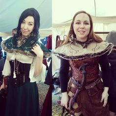 #EpicArmoury #fur #hoods are the perfect way to keep the chill off your back in these harsh #medievalfair appropriate #winters.  #Winterfest