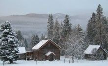 Brown Family Homestead near Lake Wenatchee.  We are running a nordic and backcountry oriented trip here this year.