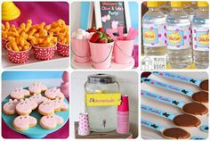 ideias criativas para mesas de festas infantis