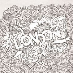 Color in this free London doodle today! #doodle #doodlepages #freeactivities…