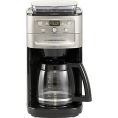 Cuisinart® Grind and Brew 12-cup Coffee Maker in Coffee Makers | Crate and Barrel