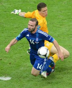 Opening game of Euro 2012: Poland 1 - 1 Greece