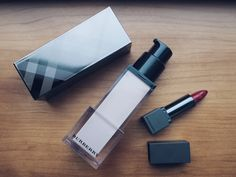 In the Glossybox X Wendy Rowe beauty box, this weeny Burberry lipstick!