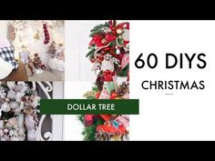 e29900ba4d0085 🎄60 DIY DOLLAR TREE CHRISTMAS DECOR CRAFTS 🎄WREATH