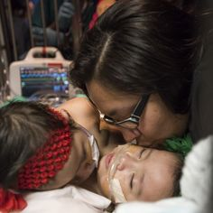 GOD BLESS HOPE N FAITH...AS THEY GO THROUGH THEIR LIVES... OUR PRAYER IS THAT THEY HAVE A LONG N HEALTHY LIFE... TRULY BLESSED TO READ THIS AMAZING STORY...ABOUT TODAY'S DRS. AND THEIR AMAZING SKILLS TO SAVE THEIR LIVES...  :)  <3  (y)  HOUSTON � Elysse Mata still remembers the day a doctor told her she was pregnant with conjoined twins. It was Jan. 13, 2014, and she was 19 weeks pregnant. It wasn't long after �12 weeks later on April 11, to