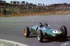 1961 GP Holandii (Zandvoort)  Lotus 21 - Climax (Jim Clark)
