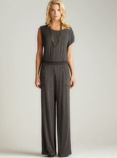 ShopStyle: Max Studio JUMPSUIT WITH POCKETS