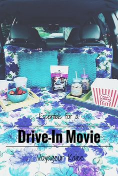 Essentials for a Drive-In Movie + a Funny Story — Voyageur Kalee