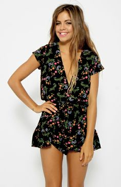 Evie Playsuit - Black @Peppermayo Boutique Boutique www.peppermayo.com #fashion #peppermayo