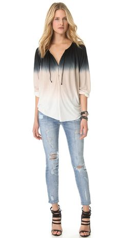 Young Fabulous & Broke Ang Sunset Ombre Top | SHOPBOP