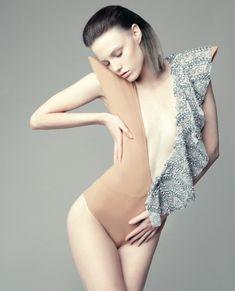 frilled bodysuit