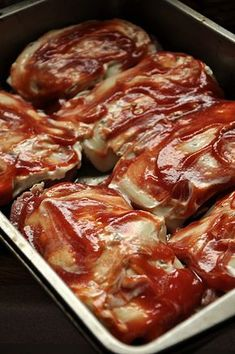 Pork Recipes, Salad Recipes, Cooking Recipes, My Favorite Food, Favorite Recipes, Polish Recipes, Lunches And Dinners, Food Porn, Food And Drink