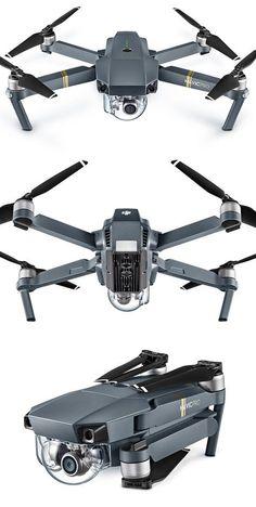 DJI Mavic Pro Foldable GPS Drone + Fly More Combo (RTF) - HeliPal