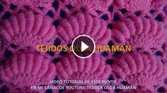 Hairpin Lace Crochet Tutorial 38 The Puff Stitch Beaded Strip Tunisian Crochet, Irish Crochet, Crochet Baby, Knit Crochet, Learn Crochet, Stitch Crochet, Quick Crochet, Crochet Bag Tutorials, Crochet Videos