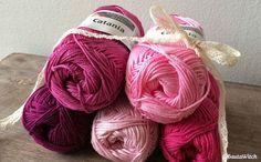 Vem älskar inte rosa!? ;) Catania i 100 % bomull och underbar lyster! BautaWitch.com