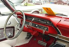 it in a 1965 Ford Galaxie wich is a old car
