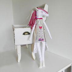 Bílý koník - Sběratelské originály - Břichopas toys