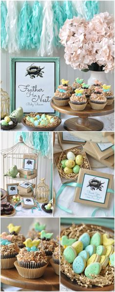 'Feather Her Nest' Bird Baby Shower - Creative Juice