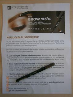 Brow Satin von Maybelline im Produkttest bei empfehlerin.de