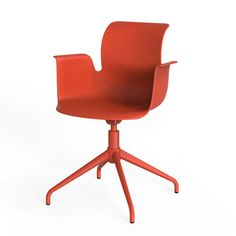 Industrial designer Konstantin Grcic has added an armchair to his family of Pro chairs
