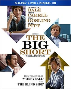 Available in: Blu-ray.This adaptation of Michael Lewis' nonfiction book The Big Short explores the 2008 financial crisis through the lens of four Man Movies, Movie Tv, Steve Carell Ryan Gosling, The Blind Side, The Big Short, Michael Lewis, Good Movies To Watch, Christian Bale, Film Serie