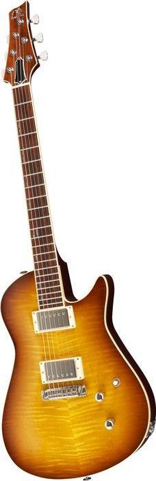 Giffin Guitars Valiant Ice Tea Burst (Musician's Friend)