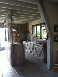nice home made kitchen
