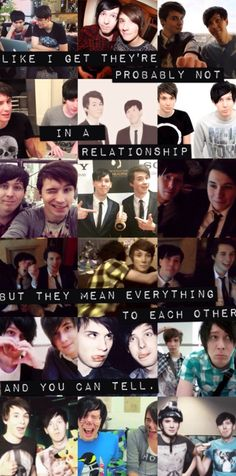 True I don't think they are boyfriends and stuff but there obviously best friends and they mean the world to one another
