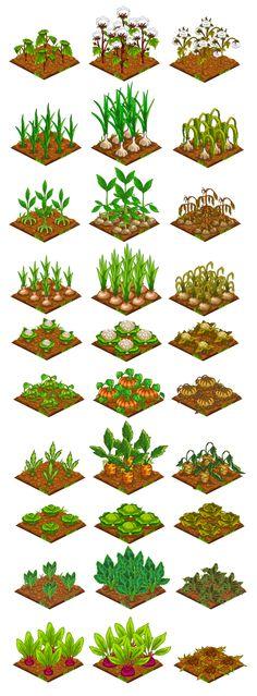"""""""Farmster"""" Game Art on Behance"""