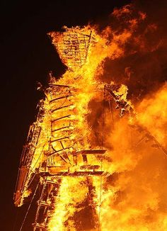 Burning Man 2012 - Framework - Photos and Video - Visual Storytelling from the Los Angeles Times