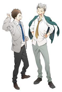 Moniwa & Bokuto | Haikyuu!!