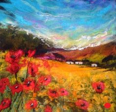 """Fields of Gold - Moy Mackay. check out her """"how-to"""" book from her site: http://www.moymackay.com/moys-book.html"""