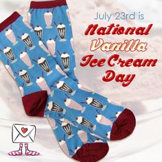 July 23rd is National #VanillaIceCream Day!