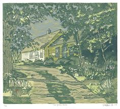 One of my favorites. I lived in a yellow house in Maine... :)