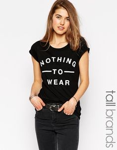 New Look Tall Nothing To Wear T-Shirt