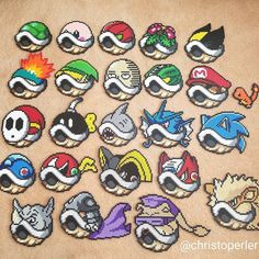 Pearler Bead Patterns, Perler Patterns, Pearler Beads, Fuse Beads, Geek Perler, Perler Bead Mario, Pokemon Perler Beads, Stitch Games, Pokemon Cross Stitch