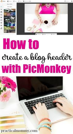 Create a Blog Header with Picmonkey